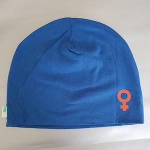 Hat / Mössa ♀️ Blå, Storlek S