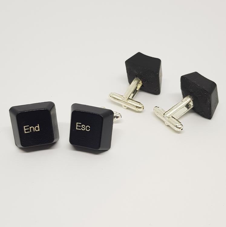 Manschettknappar/cufflinks - End/Esc