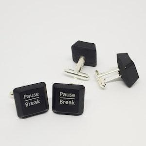 Manschettknappar/cufflinks - Pause Break/Pause Break