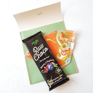 Pepp-post med choklad och kaffefilter- porto ingår