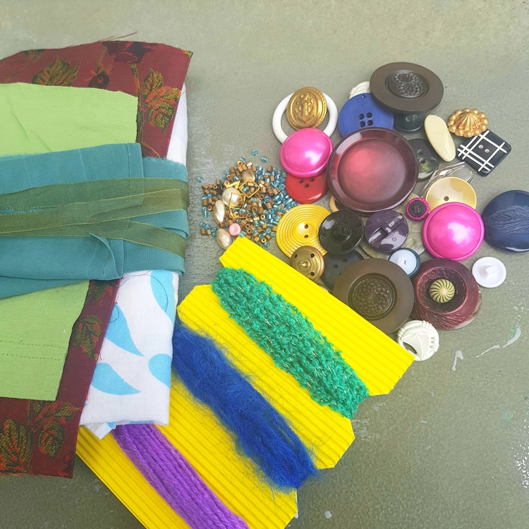 Materialkit för att skapa & laga - Färgglatt
