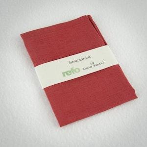 Kavajnäsduk / Hanky - Röd