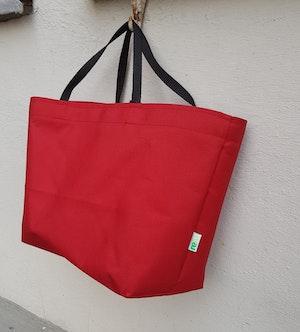 Matlådeväska/ Lunch Bag  - (Större) Röd