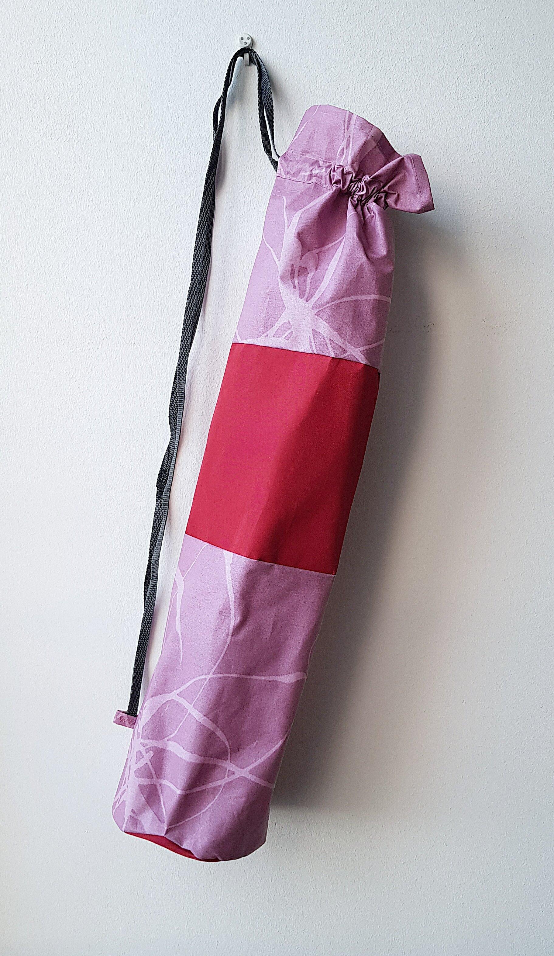 Yogamatta Fodral - rosaröd