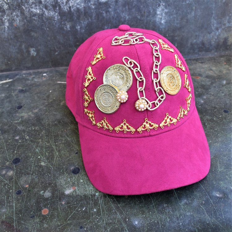 HATS OFF - pink gold