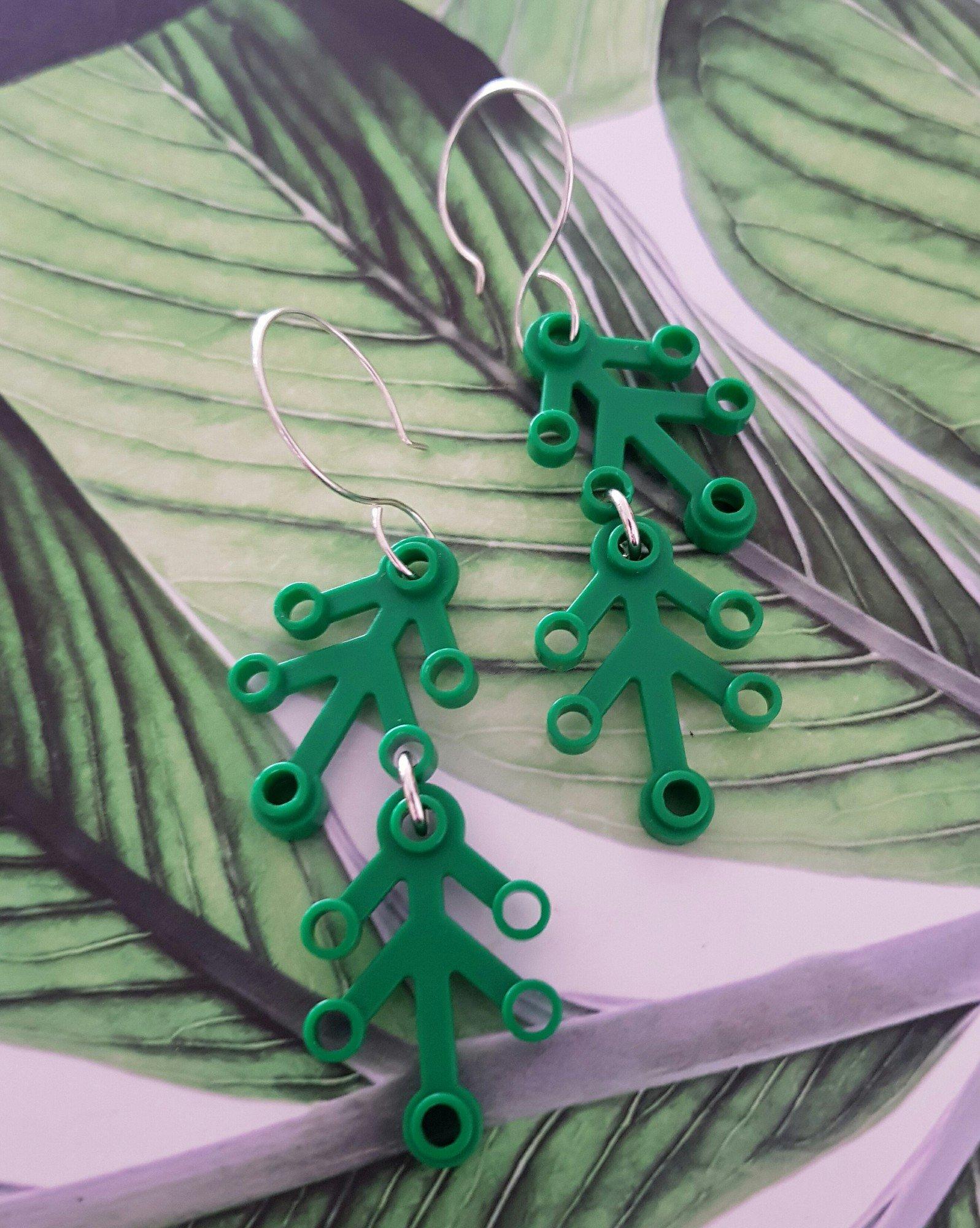 Örhängen - Gröna Kvistar