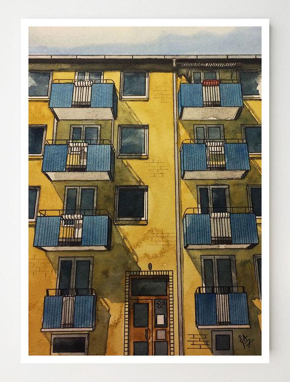 Konstkort Haråsgatan 15