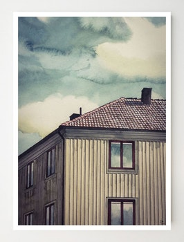 Konstkort Ekedalsgatan
