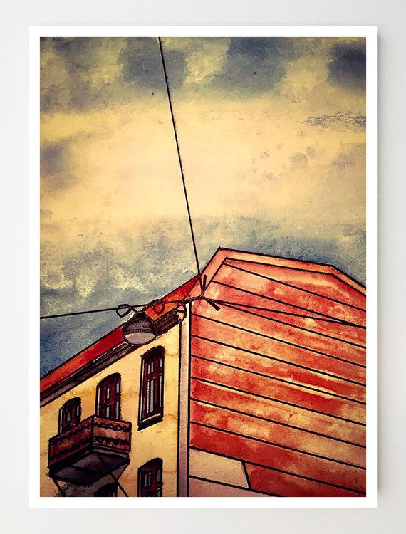 Konstkort Bangatan 16