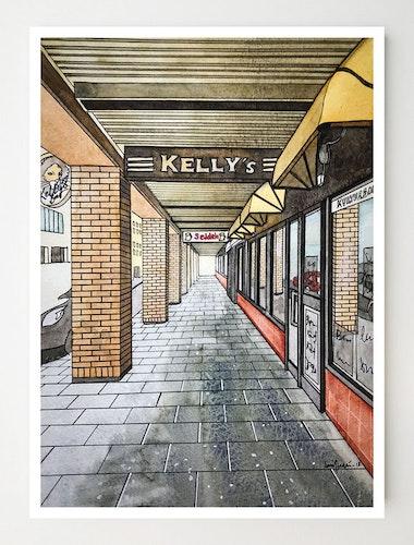 Konstkort Kelly's