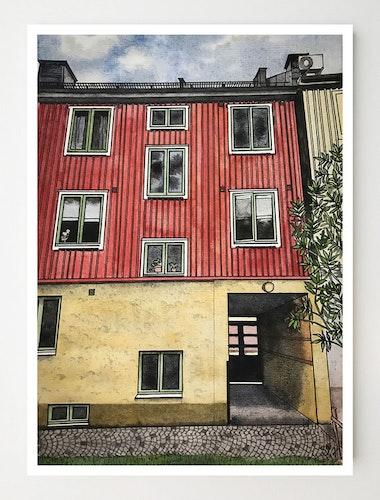 Konstkort Svanebäcksgatan 47
