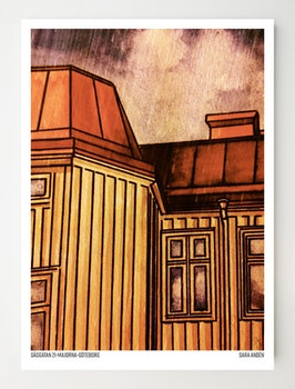 Konstkort Såggatan 21