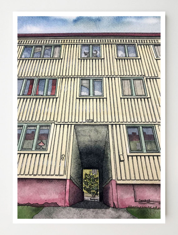 Konstkort Söderlingsgatan 5