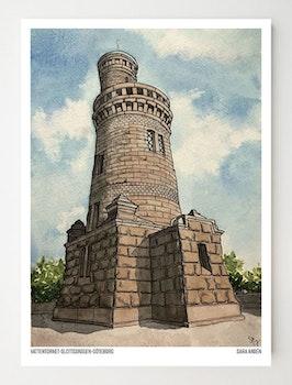 Konstkort Vattentornet