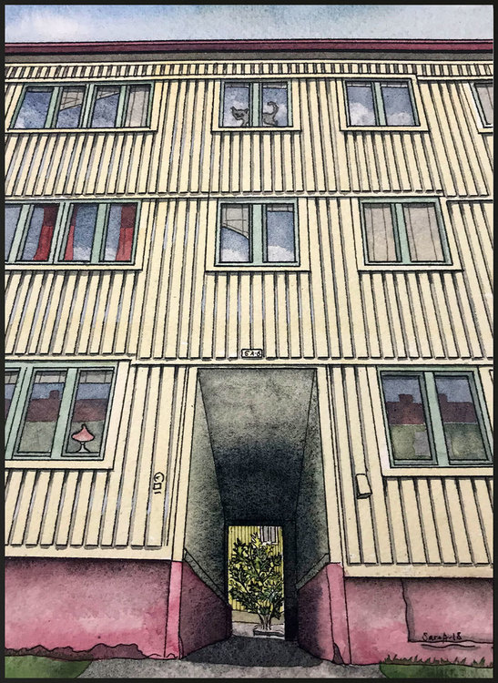 Söderlingsgatan 5 miniprint