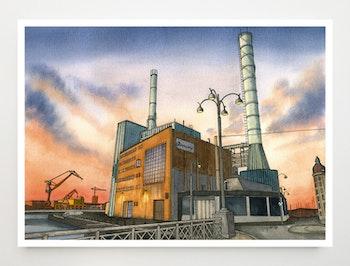 Konstkort Rosenlundsverket