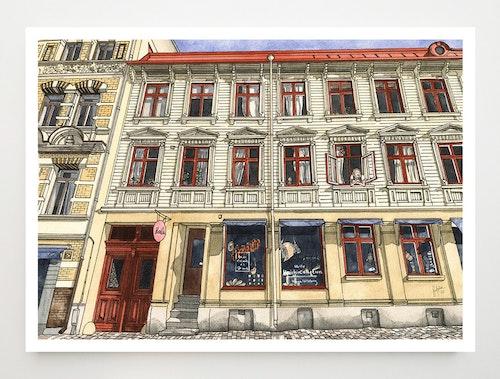 Konstkort Haga Nygata 32