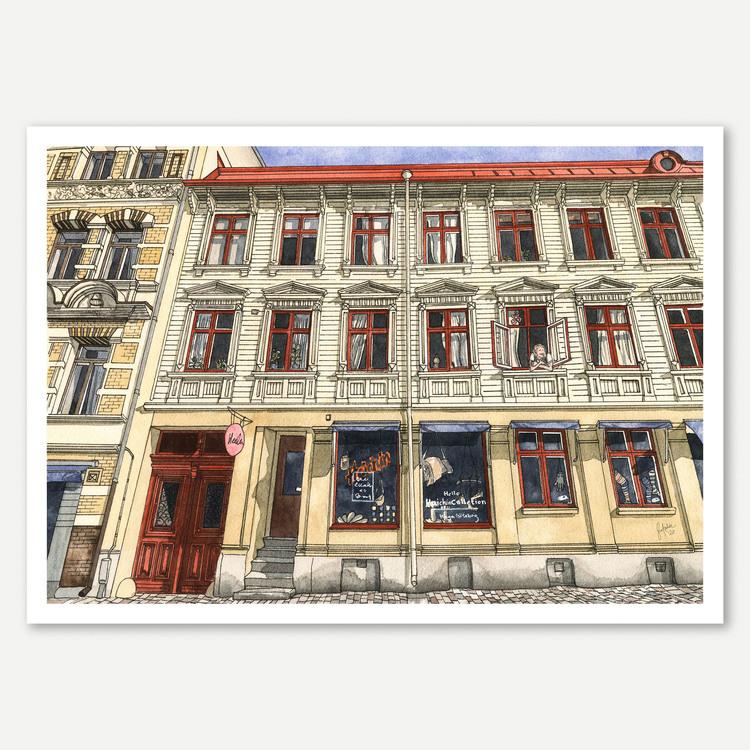 Haga Nygata 32 Miniprint