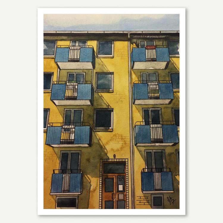 Haråsgatan 15 miniprint