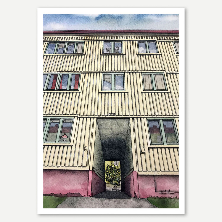 Söderlingsgatan 5 miniprint