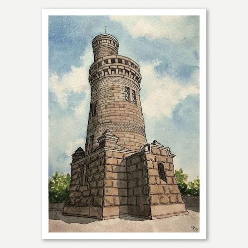 Vattentornet miniprint