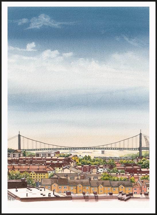 Älvsborgsbron Miniprint