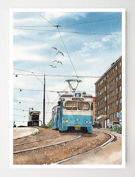 Konstkort Stigbergsliden