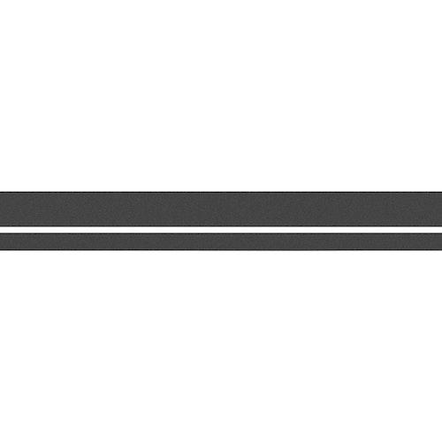 Vattenlinjestripe 57mm Grå