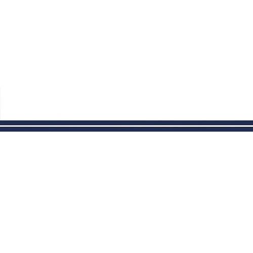 Däcksstripe 15mm Blå