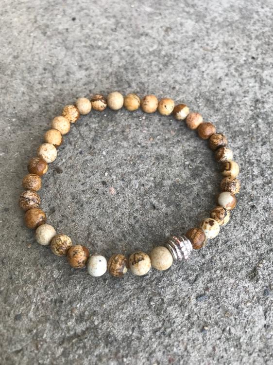Pärlarmband - Jaspis