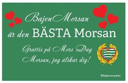 Älskad Bajenmorsa