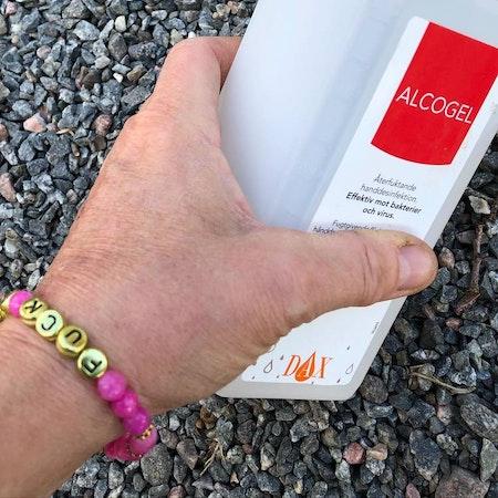 FUCK CORONA armband