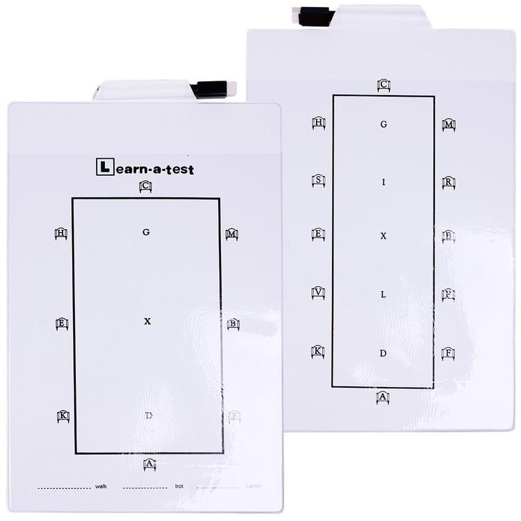 Whiteboard dressyrbana