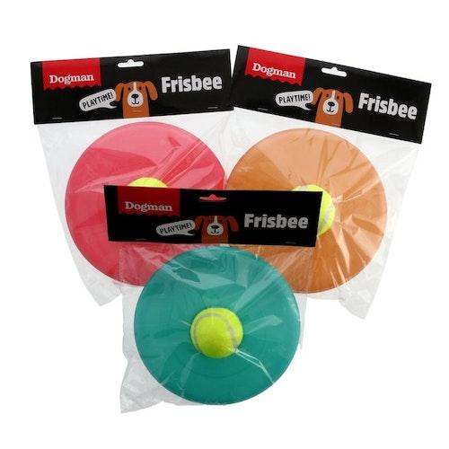 Frisbee med tennisboll