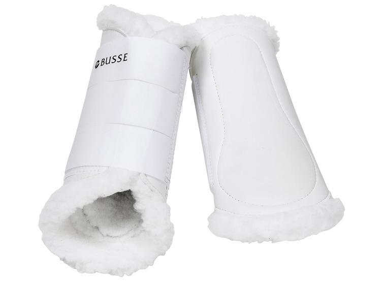 Benskydd lättvikt med ludd BUSSE
