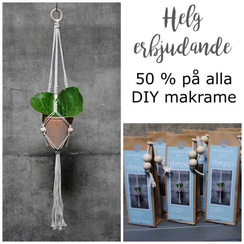 Helgerbjudande på DIY Makrame
