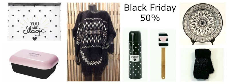 BLACK FRIDAY 50% RABATT