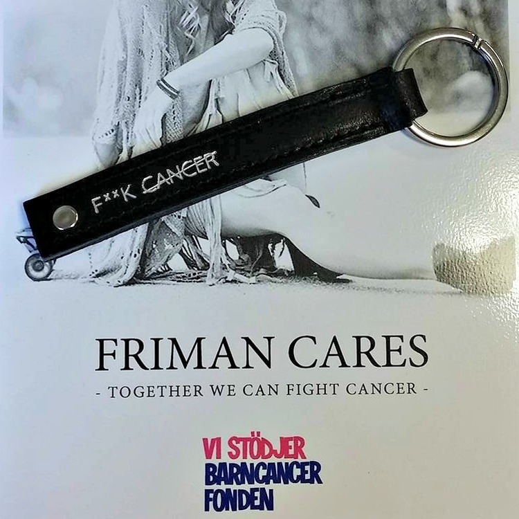 FRIMAN CARES bidrar till cancerfonden