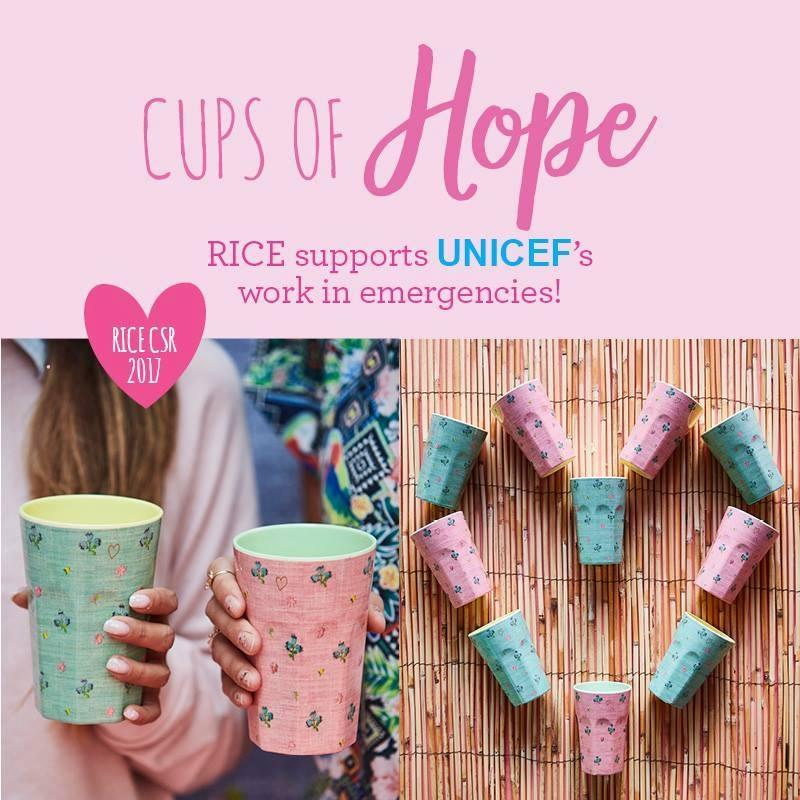 Rice i samarbete med UNICEF