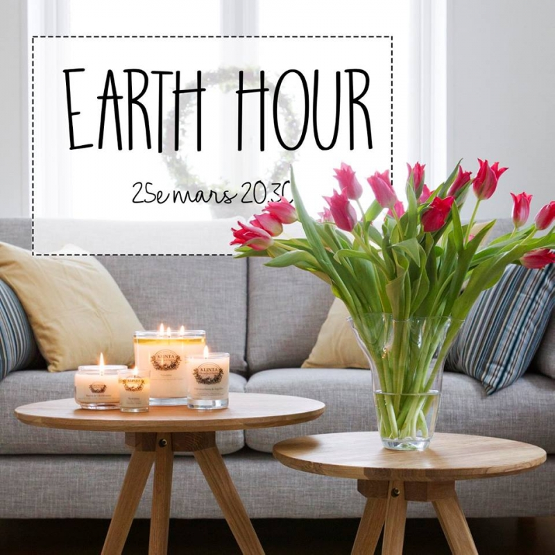 Earth Hour på lördag