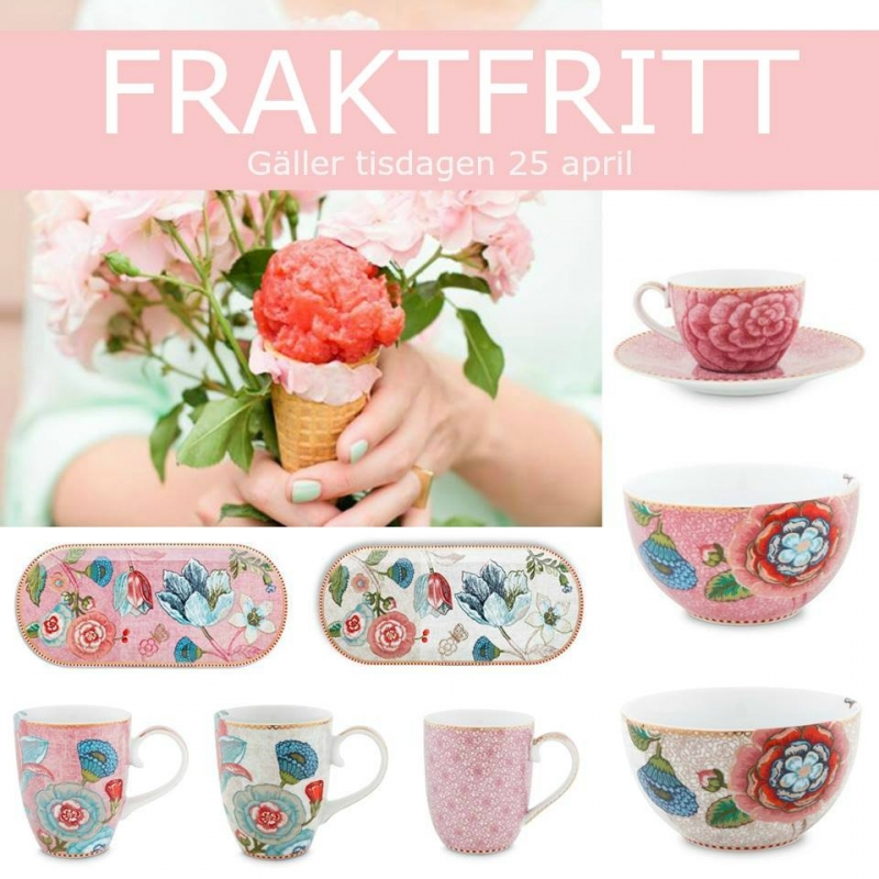 Fraktfritt 25 april