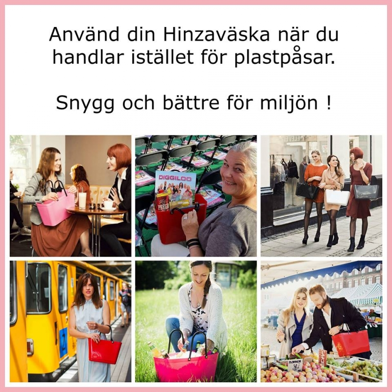 Hinza - så mycket mer än en väska