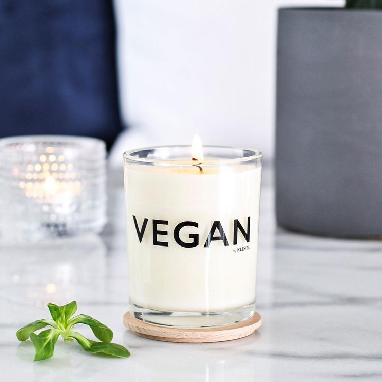 Doftljus VEGAN neroli, lavender & rosmary   -KLINTA