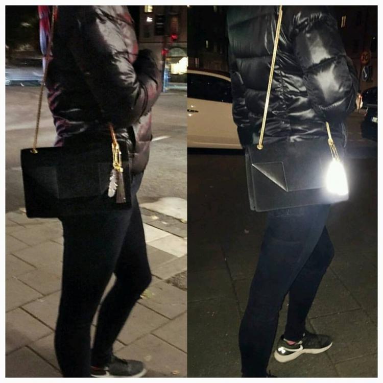 Reflextofs Black Lace silver