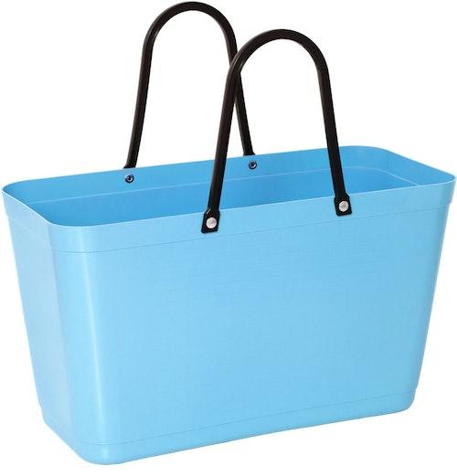 Väska stor ljusblå HINZA -Green Plastic