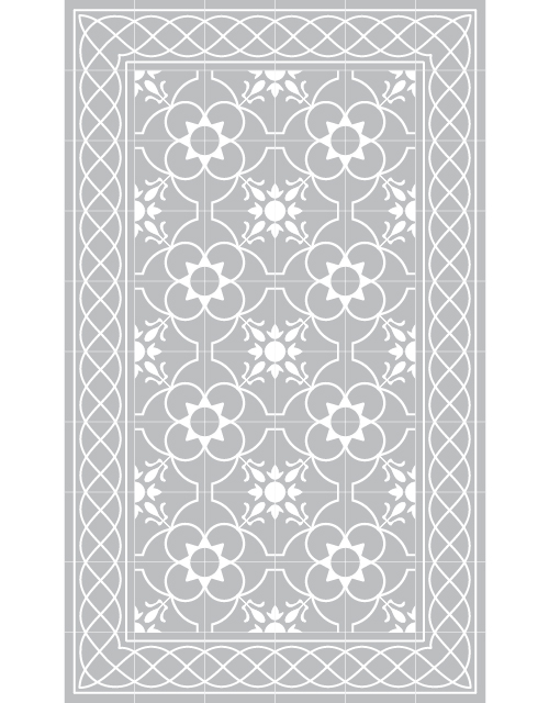 Matta 80x140 cm grå-BEIJA FLOR