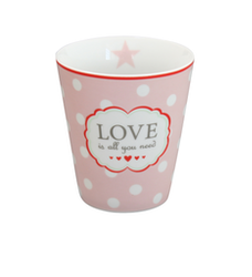Mugg Love is all you need-HAPPY