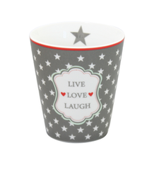 Mugg Live Love Laugh-HAPPY