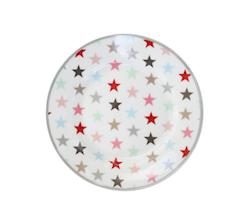 Tallrik 12-pack stjärnor-HAPPY