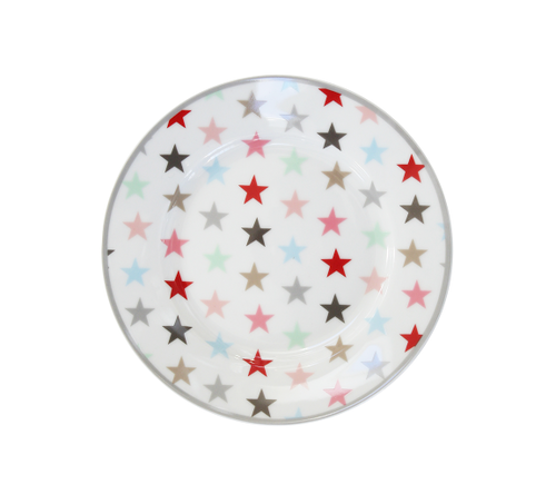 Tallrik stjärnor-HAPPY